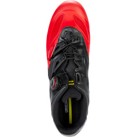 Mavic Crossmax Elite Schuhe Herren black/fiery red/black